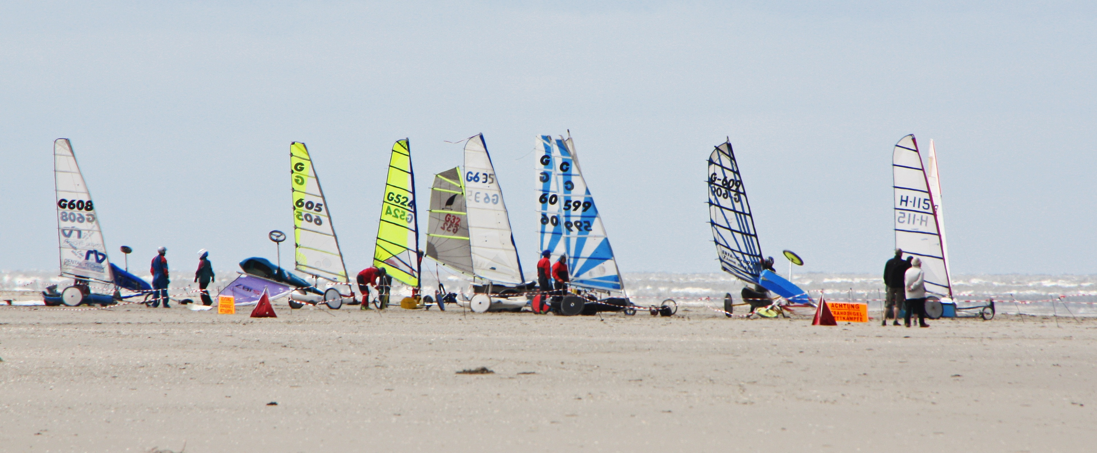 Strandsegeln in Sankt Peter Ording mit Brodos Adventure Club