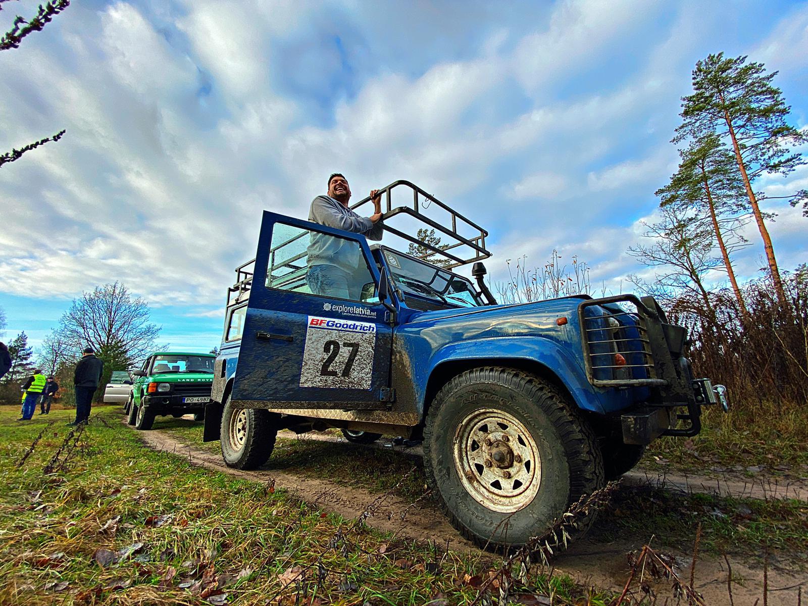Land Rover im Einsatz